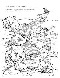 Cool Freshwater Fish Coloring Pages