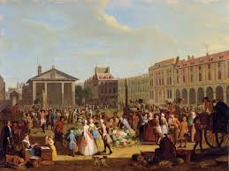 Market at Covent Garden Pieter Angillis 1726 The Townsends Blog