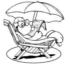 Perfect Summer Coloring Sheets Book Design For KIDS