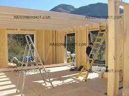 maisons ossature bois en kit modernes ou traditionnelles
