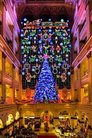 the light show at macy s then you to go see the dickens