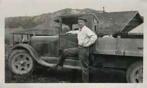 My Wife's Great-grandfather With His Work Truck [Idaho, 1930s ...