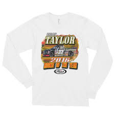 Brian Taylor - ROTY ARCA Truck Series Long Sleeve T-shirt (unisex ...