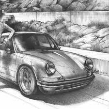 Porsche 911 Martini Rear Window Decal CarBonepl