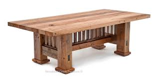 Perfect Mission Style Dining Table Ulsga In Design 3 Czkatalog Info Room Chair Set Oak With