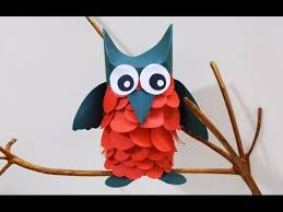 Crafts Ideas For Kids Learn Owl