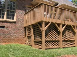 Free Standing Deck Bracing by Step By Step Of Building A Deck U2013 Master Home Builder