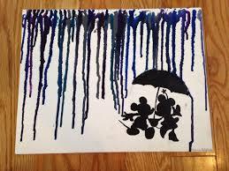 Disney Crayon Art By Me