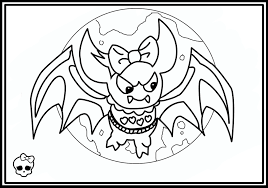 Cheap Coloring Pages For Monster High With Of Dolls