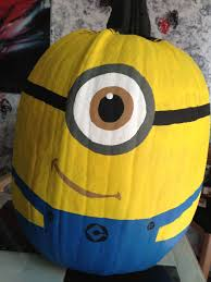 Minion Pumpkin Carving Designs by 25 Cool Diy Minion Pumpkins For Halloween Home Design And Interior
