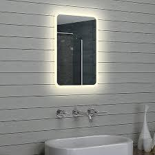 badezimmerspiegel led beleuchtung warm weiß licht badezimmer
