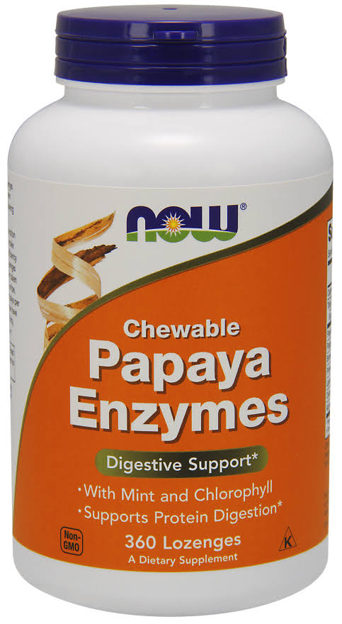 Now Foods Chewable Papaya Enzyme