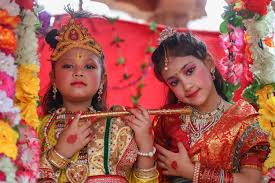 100 Krisana Here Is How Nepalis Celebrated Krishna Janmashtami And Gaura