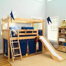 Bedroom Design Loft Bed With Slide And Fort Make Bedroom And