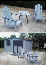 Pallet Adirondack Chair Plans by Awesome Diy Wooden Pallet Ideas That Can Improve Your Home