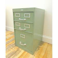 Cole Industrial Light Green Metal File Cabinet