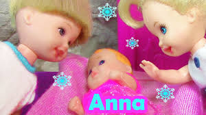 Frozen ELSA TWINS Baby Dolls Felicia And Alex ❤ Frozen Kids Barbie