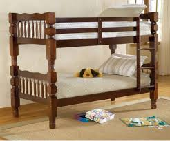bernards 3112b 3952x2 dillon twin over twin bunk bed cherry finish