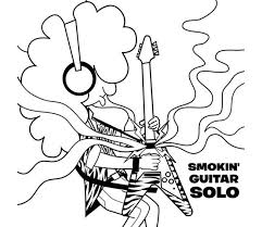 Road To Rock A Childrens Coloring Book