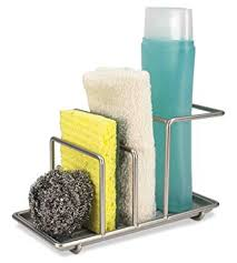 amazon com home basics sink caddy station kitchen dining