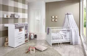 bmg babymöbel set luis set 3 tlg bett wickelkommode wandboard