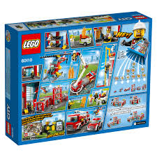 LEGO City Fire Station 60110 Building Set (919 Pieces) - Walmart.com