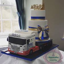 100 Truck Wedding Cake Jappacakes On Twitter Lorry Wedding Cake Actual Sized 3 Tier Cake