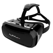 AuraVR Pro Virtual Reality Viewer Plastic VR Headset For