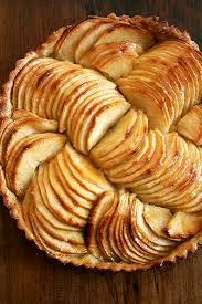 French Apple Tart Glazed