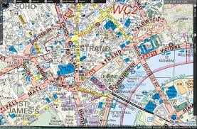 Download London Uk Street Map Major Tourist Attractions Maps Throughout 2 At Of England