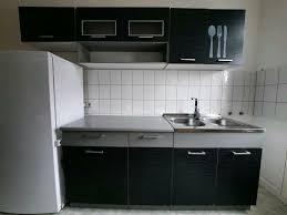 küche küchenzeile schwarz grau küchenblock individuell stellbar