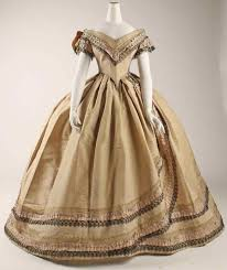 Further Documentation On Gown 1800s Vintage Ball Gowns C I Cannot Find Any Ivory