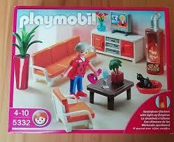 playmobil 5332 behagliches wohnzimmer ebay