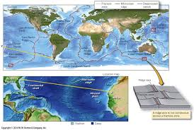 Where Does Seafloor Spreading Take Place by Plate Tectonics
