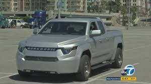 Workhorse Introduces W-15 Electric Pickup Truck | Abc7.com W15 Electric Pickup Truck A New Era In Fleet Vehicles Ngt News Atlis Motor Startengine Pickup Trucks Are Not Gms Plans For The Next Couple Wkhorse Surefly Take York City By Promises A No Cpromise Allectric Truck Autodevot Teslas Is More Less Aoevolution Rivian R1t The Worlds First Offroad From Will Full Introduces An Electrick To Rival Tesla Wired Aims Be Massproduced Unveils With Unbelievable Specs