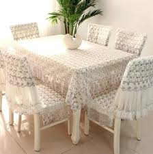 Dining Table Cover Romantic Generic Lace Round Square Tablecloth Chair Cushions Room Amazing Com