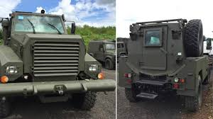 100 Old Army Trucks For Sale You Can Buy This Rare British Mine Resistant Armored Truck