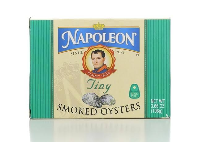 Napoleon Co Tiny Smoked Oysters - 3.66oz