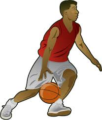 Free Clip Art People  Sports  Basketball player