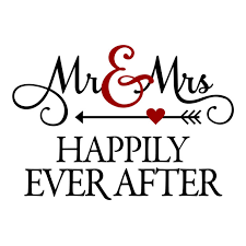 Mr Mrs Happily Ever After Graphics Design SVG EPS Png Cdr Ai Pdf Vector Art