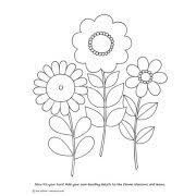 Notebook Doodles Flowers Coloring Book Image 5 Of 6