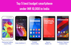 Top 5 best bud smartphone under INR 10 000 in India March 2015
