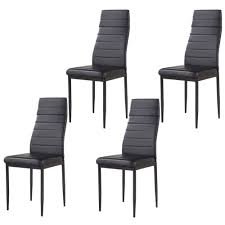 Details About Modern Set Of 4 Stunning Dining Side Chairs Leather Dining  Room Furniture Black Wayfair Black Friday 2018 Best Deals On Living Room Fniture Tag Archived Of Upholstered Parsons Ding Chairs 88 Off Carved Cherry Wood Set With Leather Tables Marvelous Diy Tufted Restoration White Genuine Kitchen Youll Love In 2019 Chair New Upholstery Shop Indonesia Classic Lion With Buy Fnitureclassic Ftureding Natural Lisette Of 2 By World 4x Grey Ding Jovita Faux A Affordable Italian Renaissance 1900 Antique 6