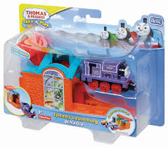 Thomas The Train Tidmouth Sheds Playset by Fisher Price Thomas The Train Take N Play Speedy Launching Charlie