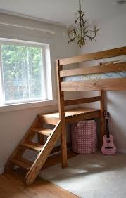 Build Wooden Loft Bed by Best 25 Build A Loft Bed Ideas On Pinterest Boys Loft Beds