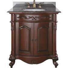 shop avanity provence antique cherry undermount single sink
