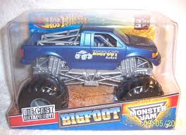 100 Bigfoot Monster Truck Toys HOT WHEELS CUSTOM MONSTER JAM 1 24 ORIGINAL BIGFOOT 4X4X4 METALLIC