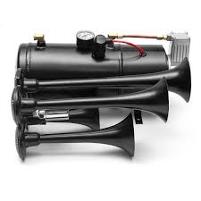 Black Truck Train Quad 4 Trumpet Air Horn Kit 170 PSI 150DB 12V ... Wolo Bad Boy Compact Air Horn Model 419 Northern Tool Equipment Twin 29 Big Rig Roof Mounted Truck Kit With150 Psi Features Black Train Dual Trumpet 12v Car 12v 150db Loud Horns Hk2 Kleinn Very 25l Tank Complete Stebel Musical The Godfather Tune 12 Volt Lumiparty Universal 178db Super With Mirkoo 150db 173 Inches Single 150db Loud Single Mega W Dc Quad 4 170 Philippines 4trumpet 110psi