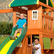 Backyard Discovery Oakmont Cedar Wooden Swing Set - Walmart.com Outdoor Play Walmartcom Childrens Wooden Playhouse Steveb Interior How To Make Indoor Kids Playhouses Toysrus Timberlake Backyard Discovery Inspiring Exterior Design For With Two View Contemporary Jen Joes Build Cascade Youtube Amazoncom Summer Cottage All Cedar Wood Home Decoration Raising Ducks Goods