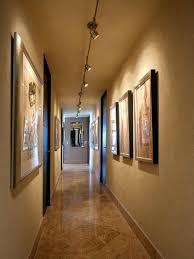 lighting ideas for narrow hallways track hallway led design images